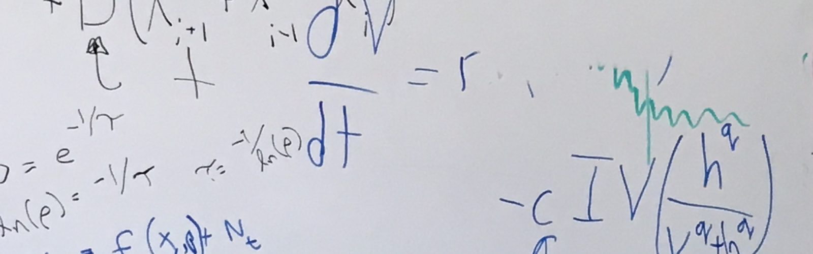 Whiteboard equations